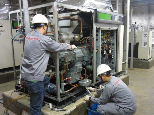 giải pháp làm sạch máy nén khí